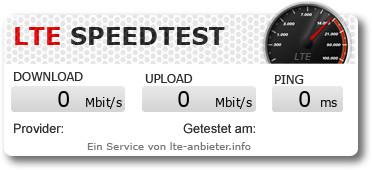 Speedtest mit Aldi Talk