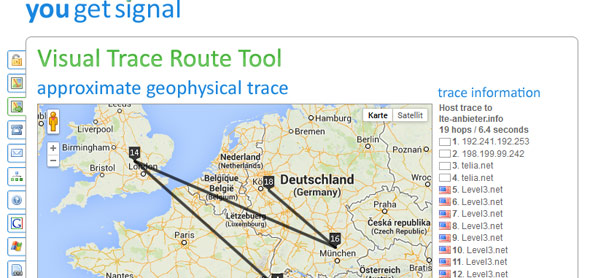 Trace Route Tool