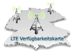 lte karte LTE Karte für Deutschland | Ausbau und Netzabdeckung