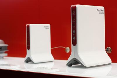 Fritz!Box 6842 LTE auf der Cebit 2013 vorgestellt