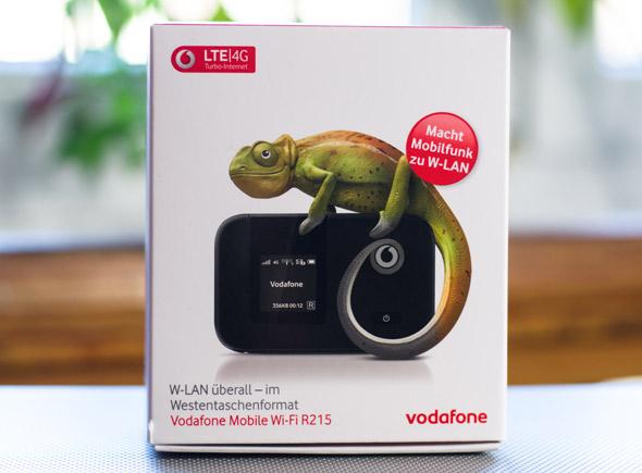 Testbericht Vodafone R215 Wi-FI-Router (Huawei E5372)