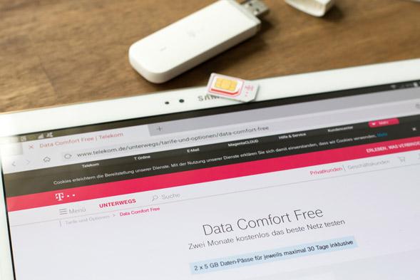 Telekom Karte Aktivieren.Data Comfort Free Im Test