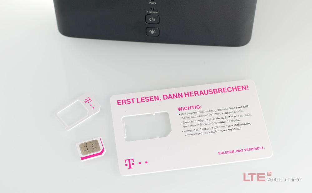 Telekom Karte Aktivieren.Test Und Erfahrungsbericht Zu Magentamobil Speedbox