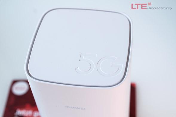 Gigacube 5G Oberseite mit 5G Schriftzug