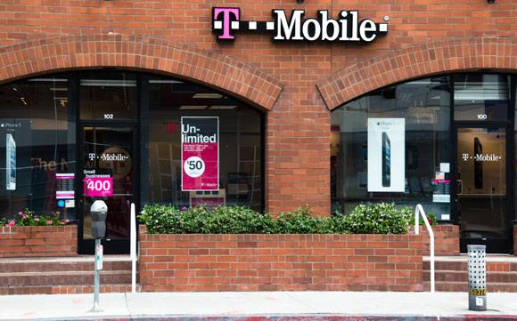 T-Mobile Shop in den USA