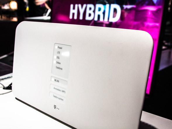 Hybrid Speedport Router auf der IFA