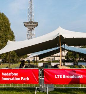 Vodafone zeigt LTE-Broadcast auf der IFA