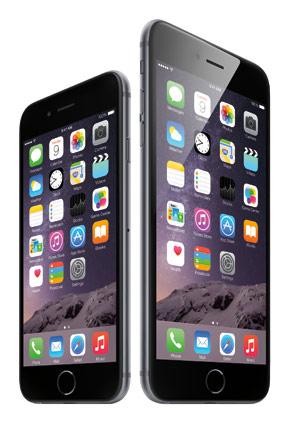 iphone6 Plus vs. normal