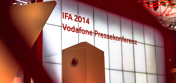 Vodafone Pressekonferenz bringt viel neues