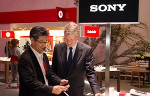 Vodafone und Sony Kooperation