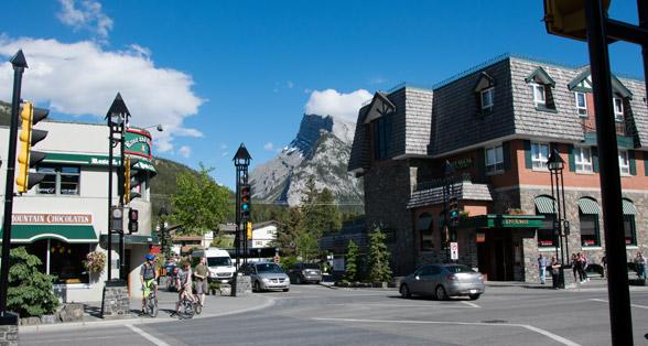 Banff Innenstadt