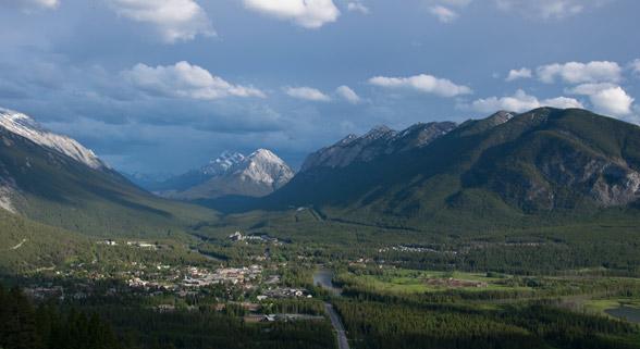 Urlaubsregion um Banff