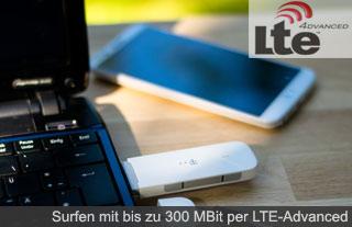 LTE-Advanced von der Telekom
