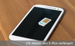 LTE bei E-Plus gibts länger