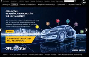 Onestar von Opel Screenshot