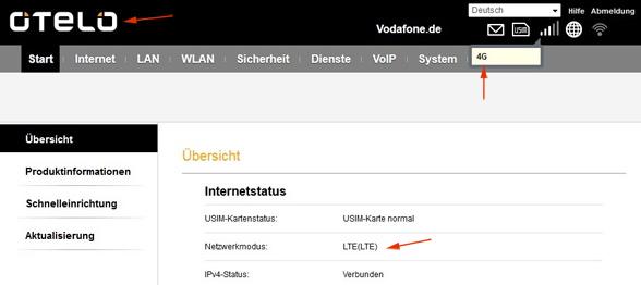 Otelo Internet Zuhause doch mit LTE!