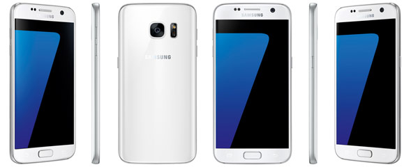 Galaxy S7 in weis