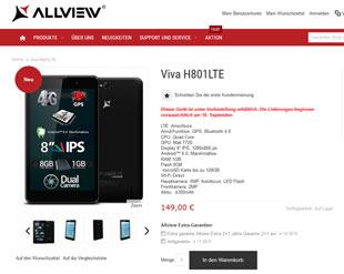H801LTE bei Allview.de