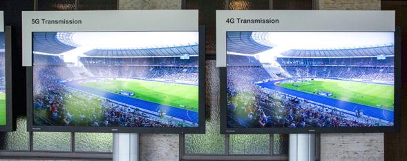 Telekom Olympiastadion 5G vs 4G
