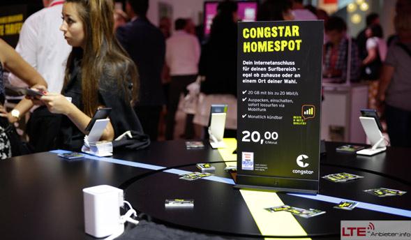 congstar präsentiert LTE-Home Tarif auf IFA