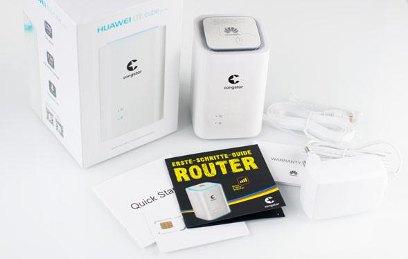 Lieferumfang congstar Homespot LTE