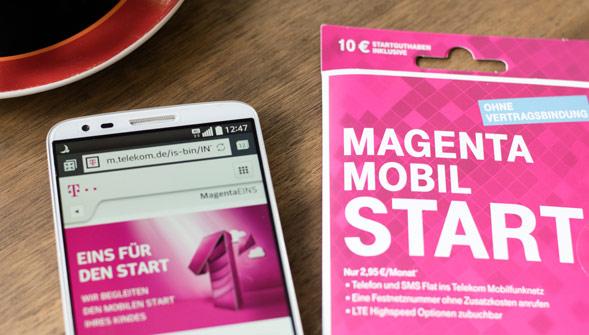 Prepaid-Starterset der Telekom