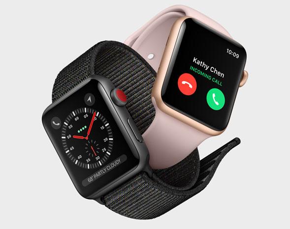 Apple Smartwatch mit eSIM
