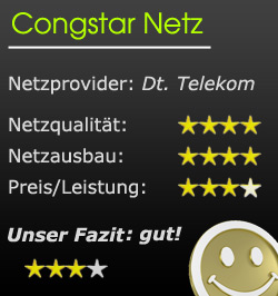 Wertung congstar