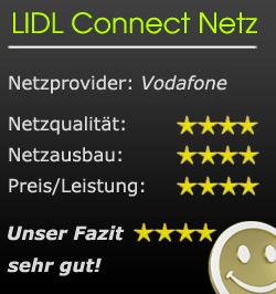 Wertung Lidl connect Netz