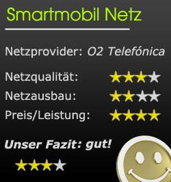 Smartmobil Netz Bewertung
