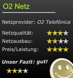 Bewertung O2-Netz
