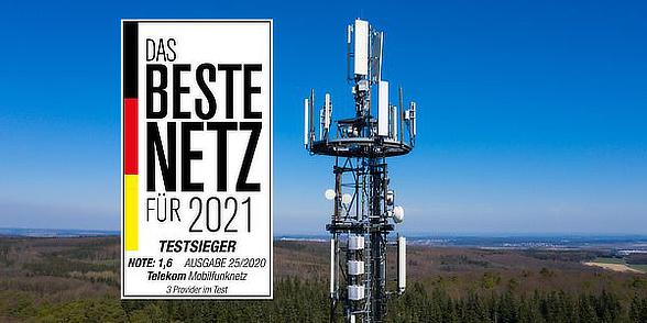 Telekom Sieger im Computerbild Netztest