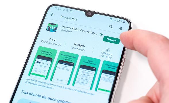 Freenet Flex App installieren