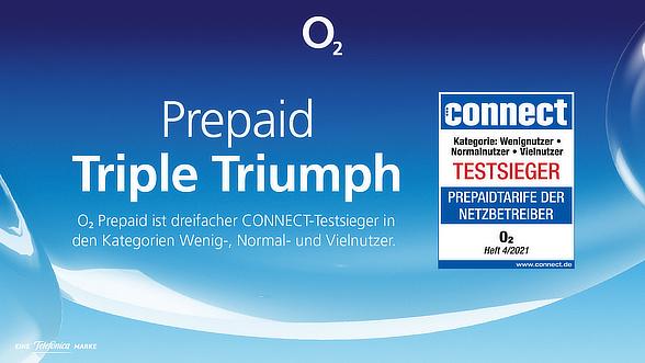 Prepaid-Test connect zu O2