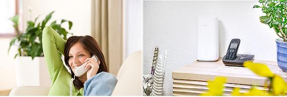 LTE für Zuhause mit Festnetztelefon?