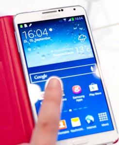 Galaxy Note 3 von Samsung mit LTE-Kat4