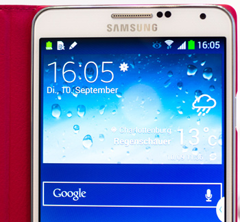 Samsung Note3 Front Display
