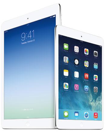 iPad Air und Mini