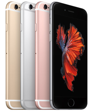 iphone-6s in verschiedenen Farben