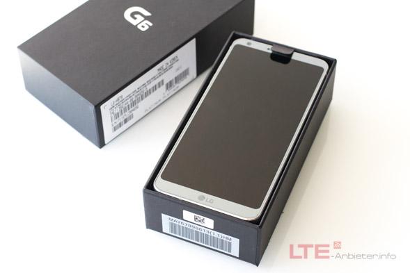 LG GG6 im Karton