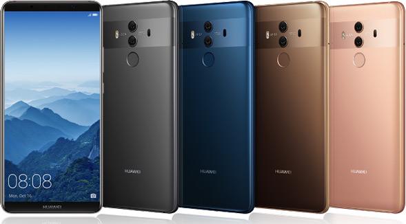 Huawei Mate 10 Pro Varianten