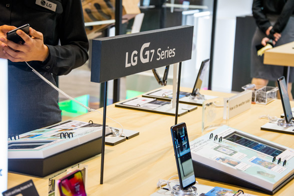 LG G7 Series auf der IFA 2018